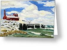 Pt Betsie Greeting Card