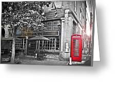 pub Greeting Card