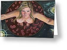 Sacred Circle II Greeting Card by Sheri Howe