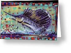 Sailfish Greeting Card