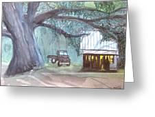 Savannas Backwoods Greeting Card