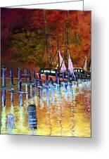 Shrimpboats Greeting Card
