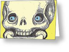 Skullnbone Greeting Card