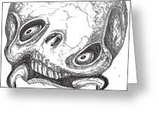 Skullnbone Twisted Greeting Card