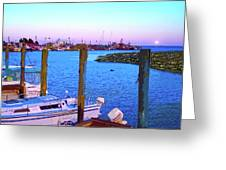 Southport Lights Greeting Card