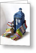 Tardis Ll Greeting Card