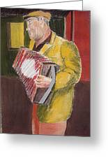 The Entertainer Greeting Card