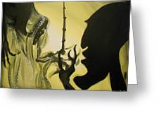 The Wand Of Destiny Greeting Card by Lisa Leeman