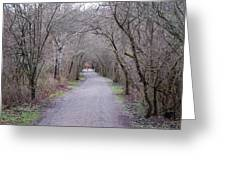 Trail Tunnel Greeting Card