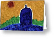Unititled. Stupa Greeting Card