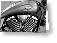 Victory Motorcycle Virginia City Nv Greeting Card
