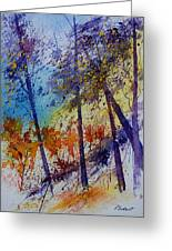 Watercolor  131108 Greeting Card
