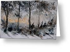 Watercolor  141206 Greeting Card