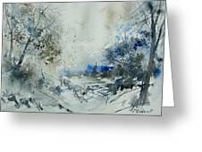 Watercolor  210307 Greeting Card