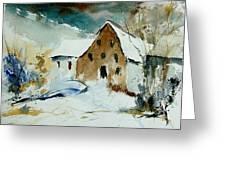 Watercolor 9696 Greeting Card