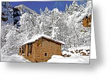 West Fork Winter Greeting Card