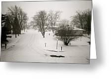 Winters Silence Greeting Card