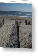 Wrightsville Beach Greeting Card by Janet Pugh