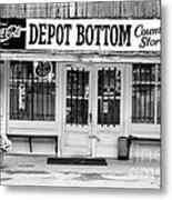 Depot Bottom Country Store Metal Print by   Joe Beasley