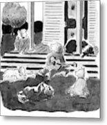 'i'm A Good Dog Metal Print by Danny Shanahan