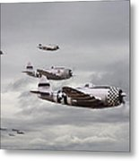 P47 Thunderbolt  Top Cover Metal Print by Pat Speirs