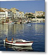 Port Vendres Harbour France 1980s Metal Print