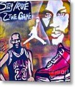 Truly Michael Jordan  Metal Print by Tony B Conscious