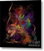 Veils Of Many Colors Metal Print