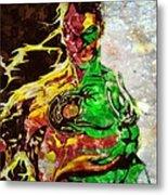 Archenemy Lanterns Metal Print by Jared Johnson