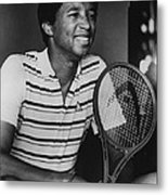 Arthur Ashe Metal Print by Retro Images Archive