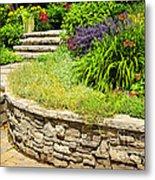 Beautiful Garden Metal Print by Boon Mee