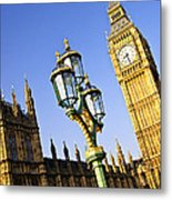 Big Ben And Palace Of Westminster Metal Print by Elena Elisseeva