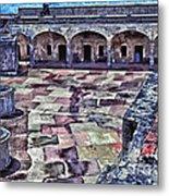 Castillo De San Cristobal Metal Print