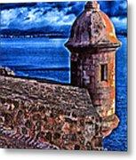 El Morro Fortress Metal Print
