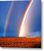 End Of The Rainbow Metal Print