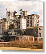 Feed Mill Metal Print by Charles Beeler