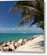 Fort Zachary Taylor Beach Metal Print by Amy Cicconi