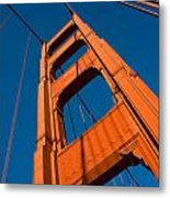 Golden Tower Metal Print by Darren Patterson
