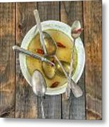 Hot Soup Metal Print by Joana Kruse