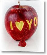 I Love You Metal Print by Gynt