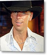 Kenny Chesney Metal Print by Don Olea