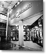 lonsdale quay market shopping mall north Vancouver BC Canada Metal Print by Joe Fox
