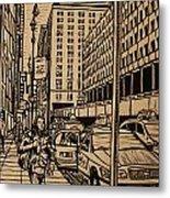Manhattan Metal Print by William Cauthern