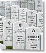 National Cemetery Of The Alleghenies Metal Print