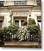 Paris Windows Metal Print