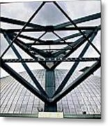 Perspectives Mellon Arena Metal Print by Amy Cicconi
