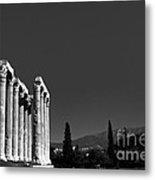 Temple Of Zeus Metal Print by Gabriela Insuratelu
