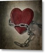 Unchain My Heart Metal Print