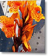 Ventura Flower Metal Print by Ron Regalado