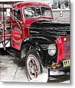 Vintage International Truck Metal Print by Douglas Barnard